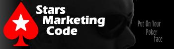pokerstars marketing code